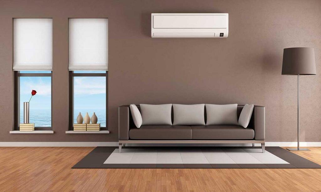 Как правильно выбрать модель кондиционера - кондиционер над диваном